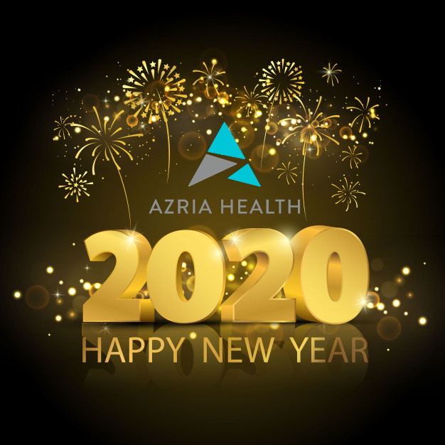 Azria Health Wishes Everyone a Happy New Year 2020!