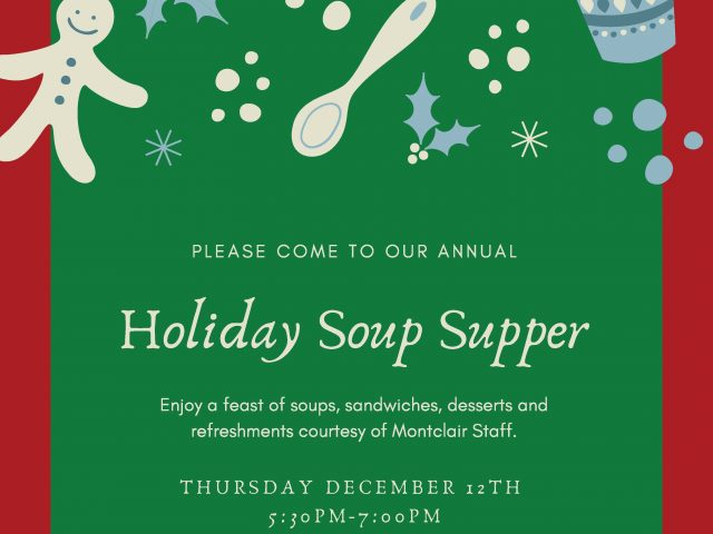 Annual Holiday Soup Supper