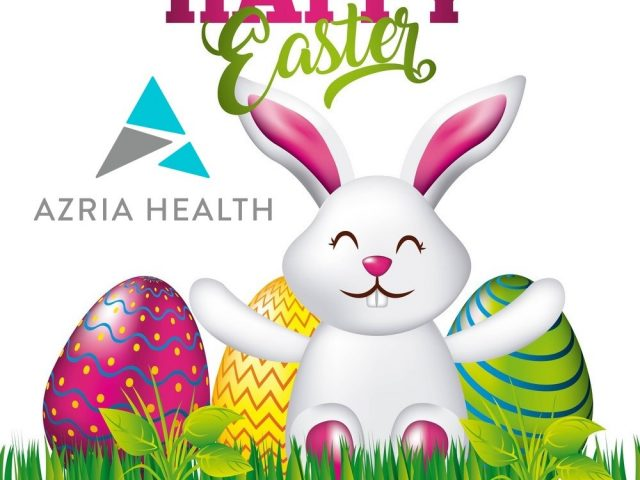 Azria Health Wishes Everyone a Happy Easter 2020!