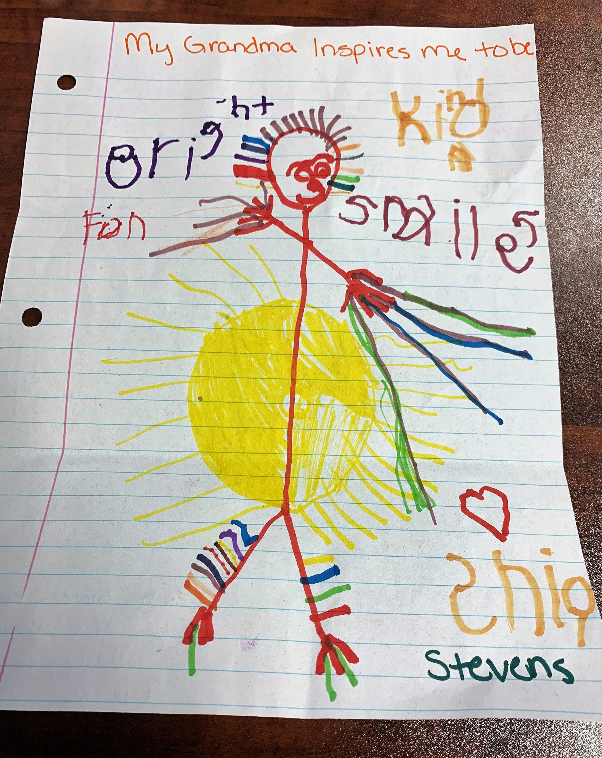 (Shia S.'s Winning Drawing)