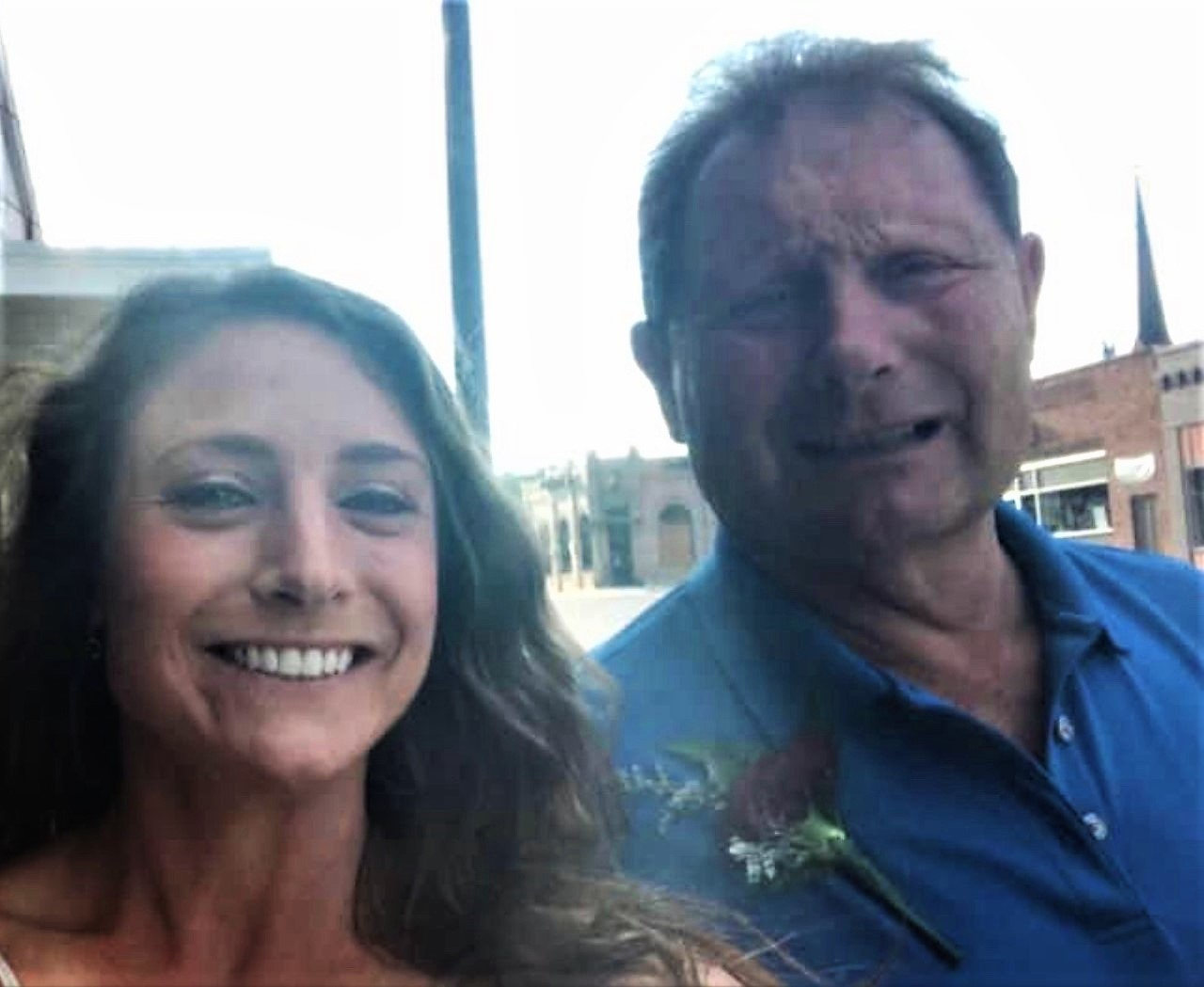 (Kendra K. with her father, Randy Bander, who is a farmer)