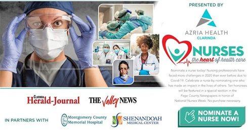 Nominate/Vote Your Favorite Nurses for Heart of Healthcare Campaign Sponsored By Azria Health Clarinda