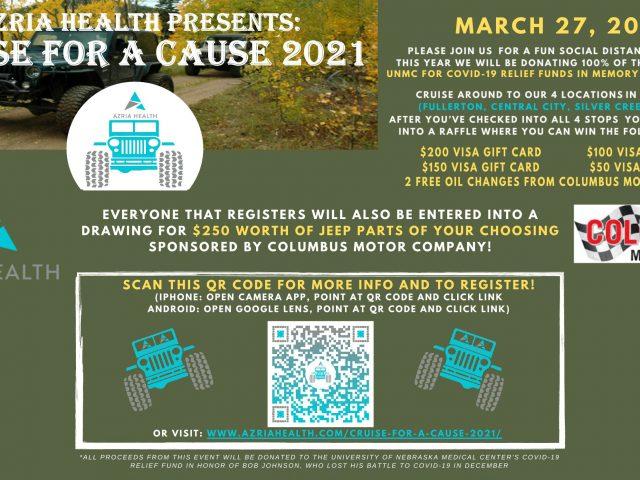 Azria Health Presents: Cruise for A Cause 2021