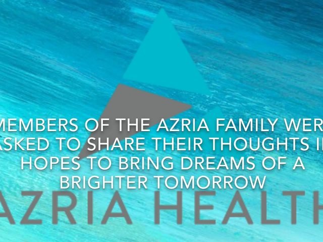 Words of Encouragement from Azria Health Residents and Caregivers
