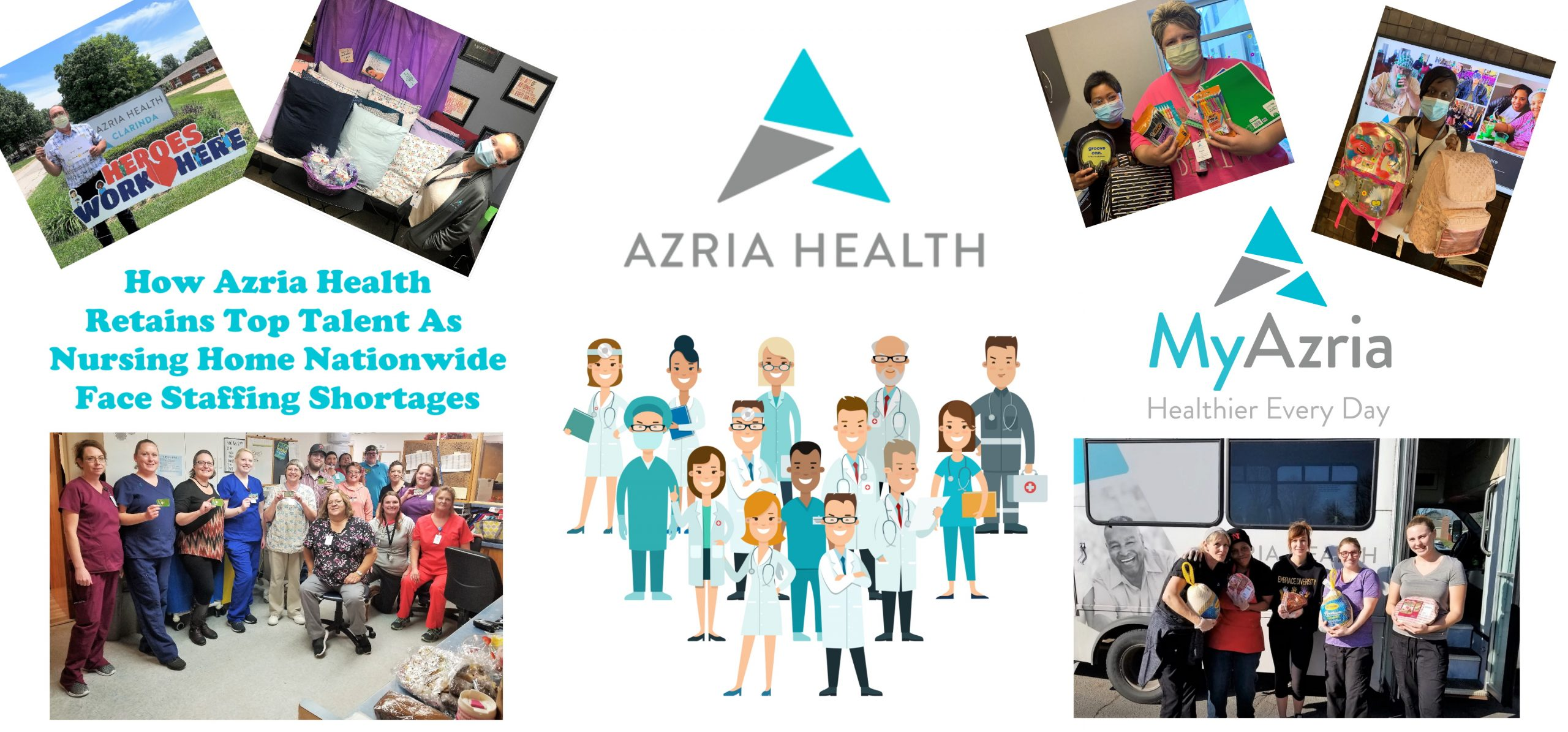 How Azria Health Retains Top Talent as Nursing Homes Nationwide Face Staffing Shortages